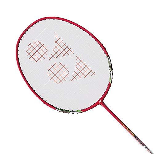 YONEX Muscle Power 8 Badminton Racket/Racquet 2U/G4 (Metallic Red) - Pre-Strung (MP82U19S)