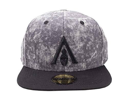 Assassins Creed Odyssey Baseball Cap Apocalyptic Logo offiziell Grau Snapback