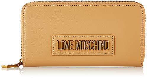 Love Moschino Damen Jc5627pp0a Geldbeutel, Braun (Camel Pu), 2x10x20 Centimeters