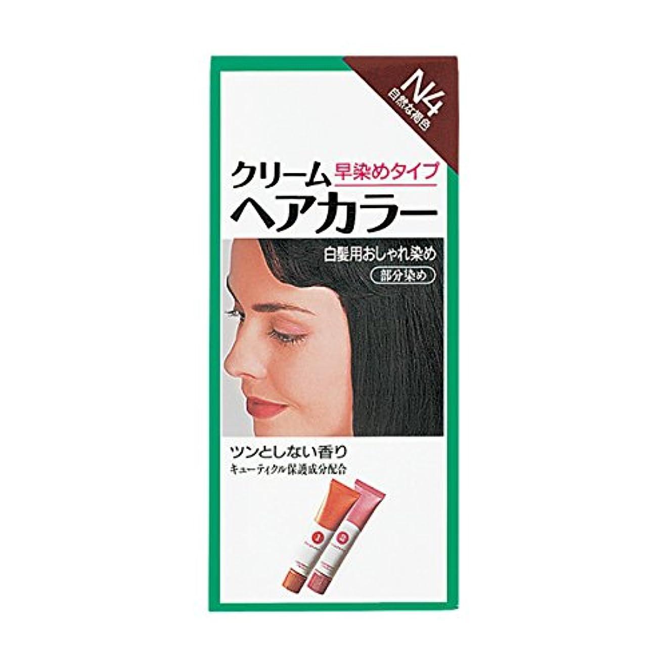 受粉者一般溶岩ヘアカラー クリームヘアカラーN N4 【医薬部外品】