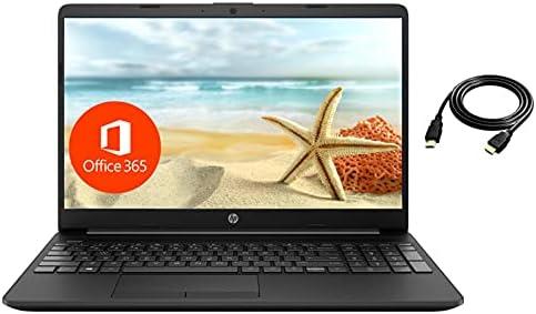 2021 HP 15.6″ Thin Laptop, Intel N4020, 8GB RAM 512GB SSD Webcam, 1-Year Office365, Wi-Fi, Dual Core up to 2.8 GHz, Windows 10 S, FHD Display, Google Classroom Zoom School Business Ready, ROKC Bundle
