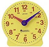 Learning Resources- Reloj de 24 Horas para los Alumnos Big Time, Color (LER3101)