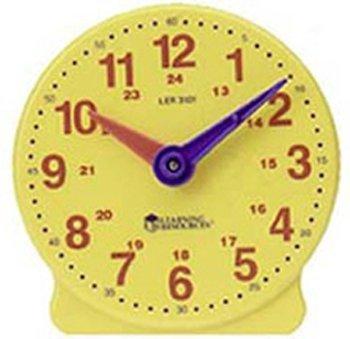 Learning Resources- Orologio a 24 Ore per Studenti Big Time, Colore, LER3101