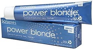 Scruples Power Blonde Conditioning Gel Toner, Ice Light Violet Base, 2.05 Ounce