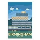 ASFGH England Vintage Reise-Poster Birmingham Art Decor
