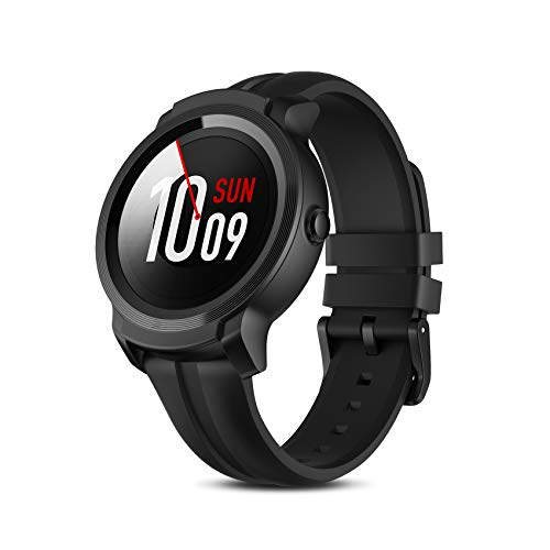 TicWatch E2, 5ATM Waterproof GPS Smartwatch with 24 Hours Heart Rate Monitor, Wear OS by Google, Compatible with Android and iOS