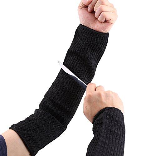防刃アームカバー 作業用手袋 防刃手袋 切れない手袋 防刃グローブ肘までカバー 腕も保護 難燃性 耐摩耗性 園芸 台所 作業場