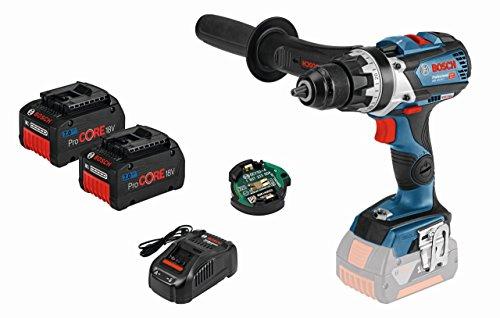 Preisvergleich Produktbild Bosch Akku-Bohrschrauber 0615990K18 ProCORE GSR 18V-85 C GCY30-4 2x7, 0 Ah-L-Boxx,  1 W,  18 V