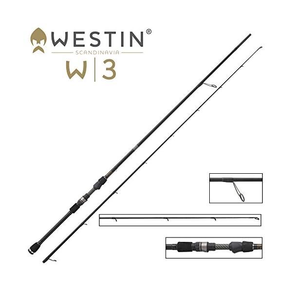 Westin W3 Finesse Texas and Carolina Spinning Rod