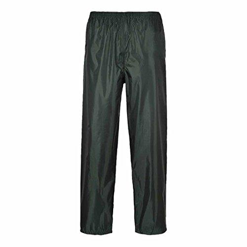 Portwest Klassische Regenhose für Erwachsene Unisex, Farbe: Olivgrün, Größe: 4XL, S441OGR4XL