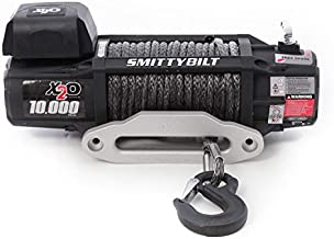 Smittybilt X2O COMP - Waterproof Synthetic Rope Winch - 10,000 lb. Load Capacity