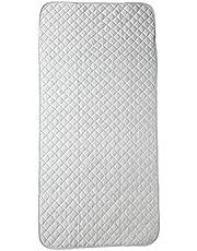西川 リビング 敷きパッド シングル ひんやり面 やわらかパイル面 両面使える 洗える オールシーズン ゴムバンド付き グレー VZ01031565730