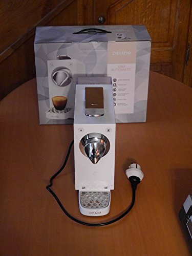 DELIZIO Nonsolocaffee Compact Automatic Kapselsystem Kaffeemaschine in Piano Black (Schwarz) Kapselmaschine 1455W
