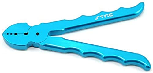 ST RACING CONCEPTS ST22353B Pro Alum Shock Shaft Plier Long Blau STRC9001 by S & T RACING INC