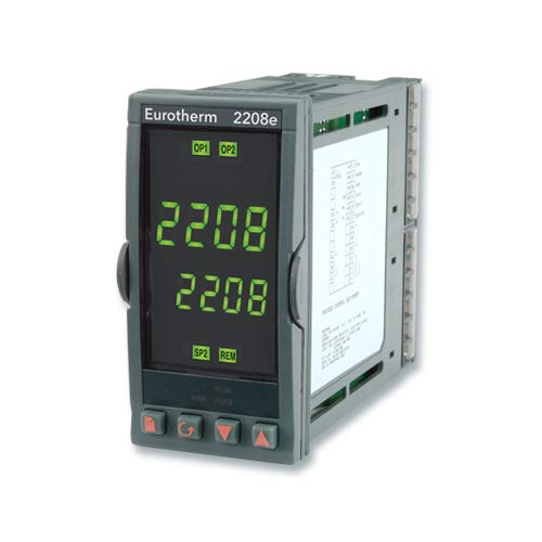EUROTHERM CONTROLS 2208E/CC/VH/LH/LC/XX/FL/2XX/ENG OUTPUT 4 - LOW ALARM 4, DISCONTINUED BY MANUFACTURER, TEMPERATURE CONTROLLERS, OUTPUT 2 - COOLING OUTPUT, OUTPUT 3 - NOT FITTED, MODEL 2208E, PID CON