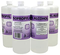 99.9+% Pure, Powerful Industrial Grade, High Strength Made in USA, Ultra High Purity, No Methanol or Harmful Constituents, Filtered to 1 Micron prior to Bottling 4 Bottles = 3.80 L / 1 Gallon Total More powerful than rubbing alcohol Use for Chemistry...
