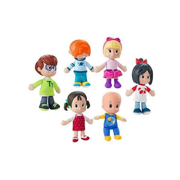 Cleo & Cuquin Pack de hermanos, muñecos de la Familia Telerín (Mattel FNJ33)