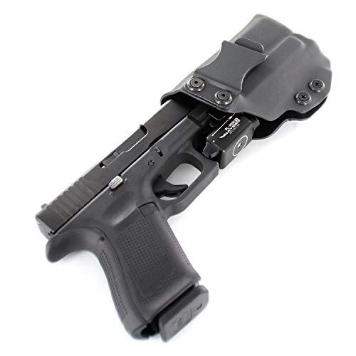 IWB Holster - OLIGHT PL-Mini 2 Valkyrie 600 Lumen - Black (Right-Hand, Glock 19,23,32)