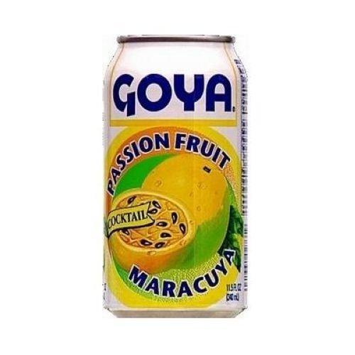Goya Passion Fruit Beverage - 12 x 284 ml / 9.6 fl. oz. - Parcha Maracuya Coctel