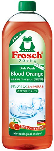 フロッシュ 食器用洗剤 ブラッドオレンジ つめかえ用 750ml