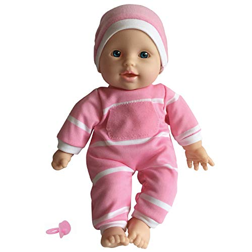 "The New York Doll Collection 11 inch Soft Body Doll in Gift Box - 11"""" Baby Doll (Caucasian)"
