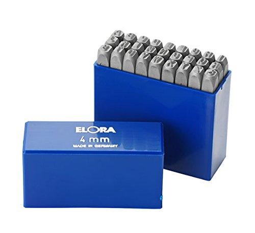 Elora 0400010120000 Schlagbuchstaben-Satz, 27-teilig, 400B-12 mm, 12 mm