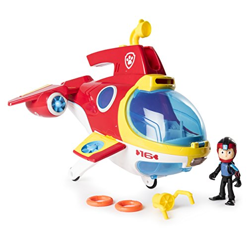 PAW Patrol Sub Patroller Transforming Vehicle with Lights Sounds and Launcher, Ages 3 & Up