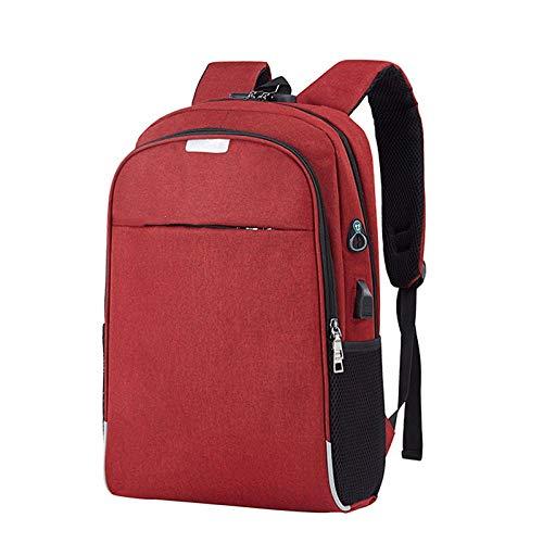 Rugzak Laptop Rugzak USB opladen 15 6 Inch Anti-diefstal Tassen Meisjes College Reizen Rugzak @Bourgondië_United_Staten