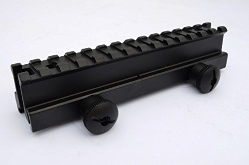 Acid Tactical 1' See-Through Picatinny Riser Flat Top Rail Scope Mount - Full Length 14 slot
