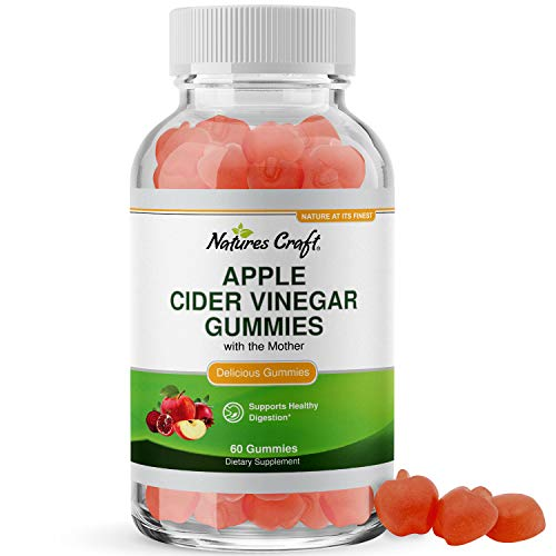 ACV Apple Cider Vinegar Gummies - Superfood Infused ACV Gummies Vitamins for Adults for Detox Cleanse Immune Support Digestion and Glowing Skin - Delicious Daily Energy Gummies with Vitamin B Complex
