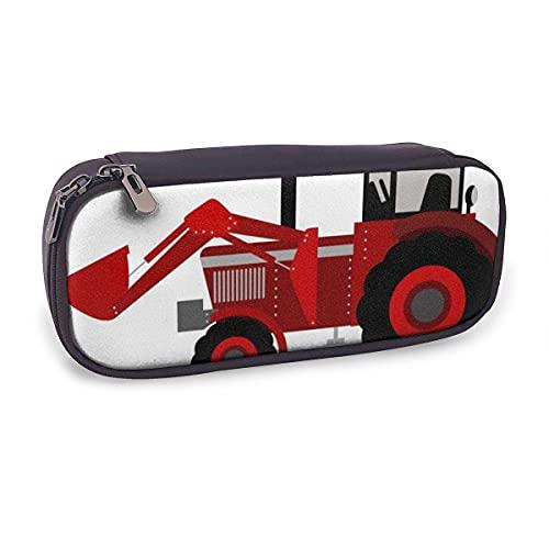 Pencil Case Cartoon Traktor Multifunction Bag with Holder Stationery Organizer for School & Office Ladies