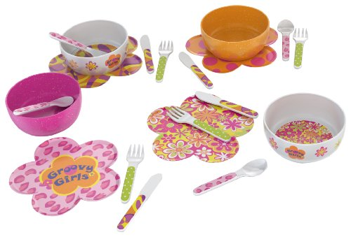 Manhattan Toy - 145530 - Jeu d'Imitation - Groovy Girls - Ensemble - Diner