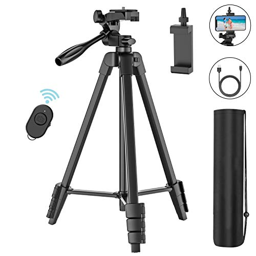 (50% OFF Coupon) 54″ Phone Tripod $13.00