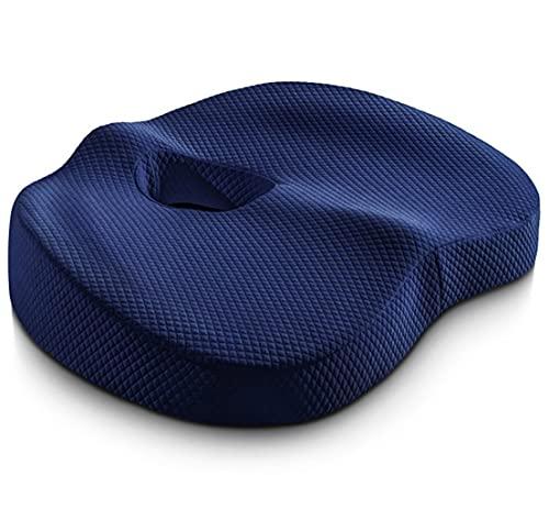 Memory Foam Seat Cushion Coccyx Orthopedic Massage Hemorrhoids Chair Cushion Office Car Pain Relief Wheelchair Support Pillows