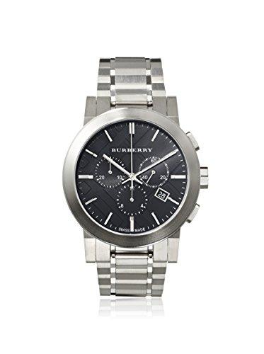 Burberry Women's BU9351 Large Check Stainless Steel Bracelet Watch