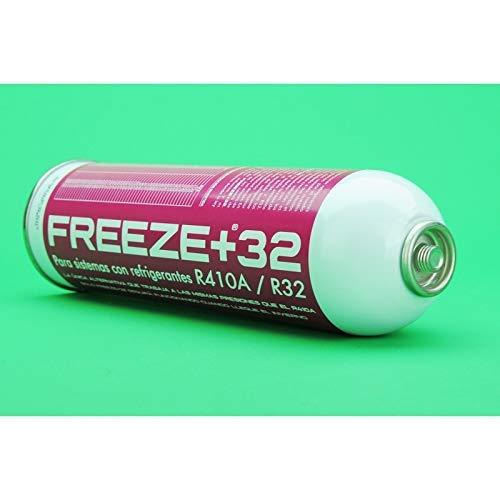 ALL4SALE - GAS REFRIGERANTE ORGANICO ECOLOGICO FREEZE +32 SUSTITUTO R410A R32