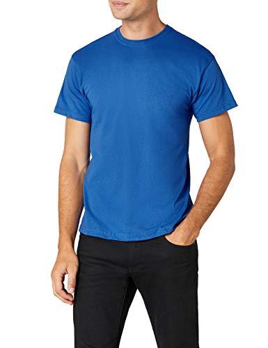 Fruit of the Loom Herren T-Shirt Ss022m, Blau (Königsblau), XXL