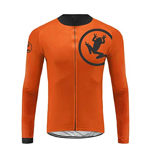 Uglyfrog Traje Ciclismo Invierno Conjunto Ropa Bicicleta Hombre+Bib Pantalones Set/Maillot MTB Manga Larga ESH19LZRB04