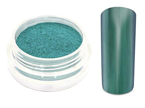 Chrom Pigment Mirror Spiegeleffekt Puder 1g Smaragd Grün-7628