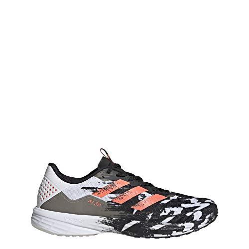 adidas SL20 Zapatillas de running para hombre, Negro (Núcleo negro / señal coral / blanco nube.), 46 EU