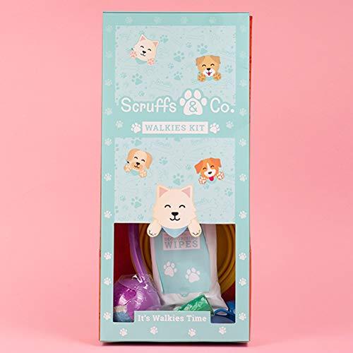 Fizz Creations Scruffs & Co - Kit de Paseos con Barro, Kit de Cuidado para Perros