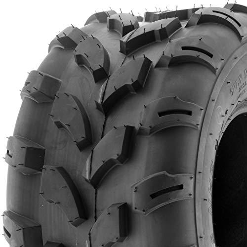 SunF A003 ATV/UTV/Lawn-Mowers Off-Road Tire 18x9.5-8, 6 PR, Directional Knobby Tread