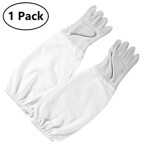 Extra Large XL Bees Bit Beekeeping protecytive gloves with vented sleeves Unisex