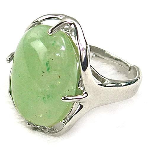Vibrations Cristalline - Anello in avventurina Verde