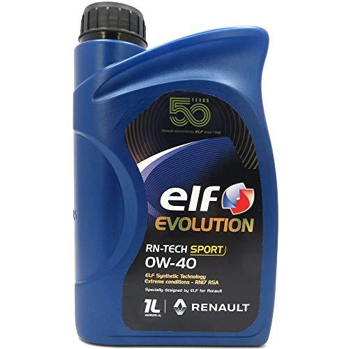 Elf 1 Liter Evolution RN-TECH Sport 0W-40