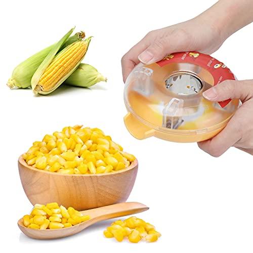Peladora de maíz, peladora de maíz de acero inoxidable, peladora de maíz, cortadora de maíz, peladora, peladora de maíz, cortadora manual de maíz para la mazorca, herramienta peladora-cortadora de ace
