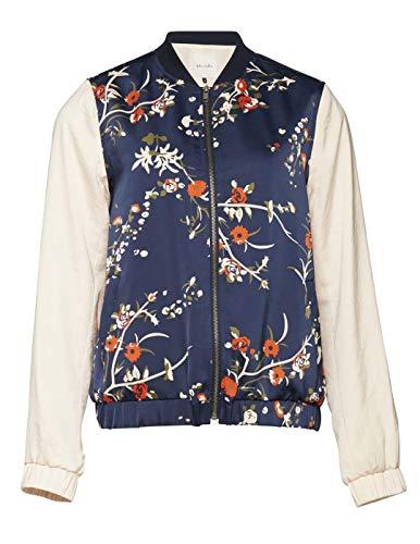 BLEND Damen Jacke Ida R ja Blau (Peacoat 24012) 40 (Herstellergröße: L)
