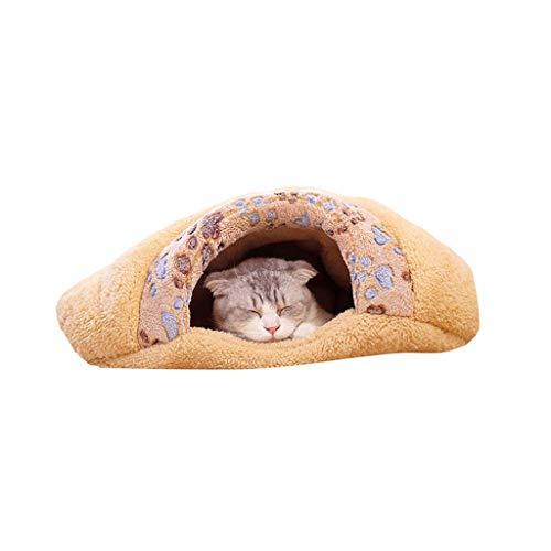 QHYY comfortabele hondenmat halfgesloten extra soft dog slaapzak voor auto's en perches