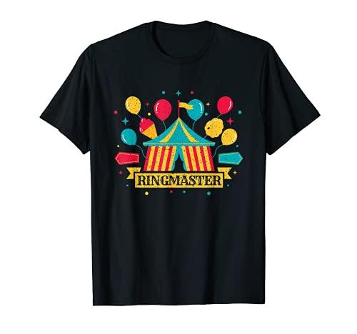 Disfraz de maestro de ceremonias Personal de payaso para Camiseta