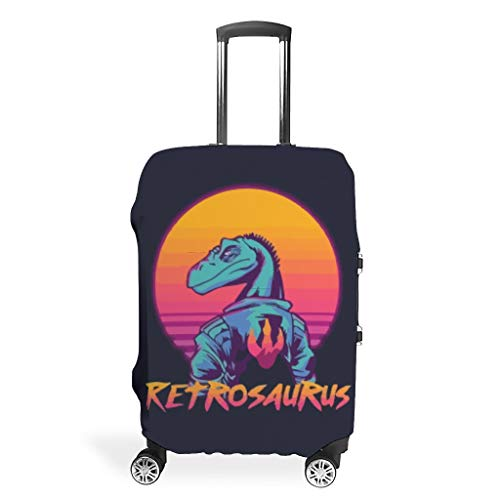 YxueSond Prints Retrosaurus - Velocity Raptor Beschermende Koffer Cover Wasbare Pak Case Cover
